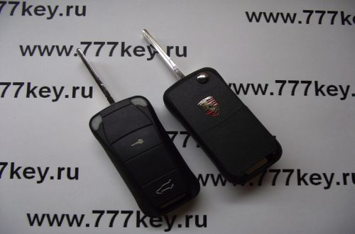 Porsche Cayenne 2 button Flip Remote Key Case код 38/1