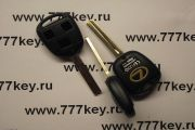 Lexus 3 Button Remote Key Case TOY40 длинное жало код 17/44