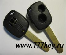 Honda 2 Button Remote Key Shell Asia Type  код 13/17