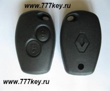 Renault  2 Button Remote Key Blank без жала код 26/3