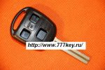 Toyota Inner Milling Three-button Remote Key Blank код 29/18
