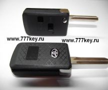 Car Flip Key Shell Toyota 2  Button TOY43 код 29/43