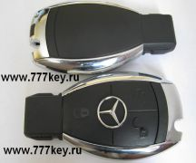 Mercedes Benz Chrome Корпус 3 кнопки  код 20/10