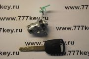 Honda Accord left door Lock до 2008 года код 1009