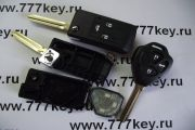 выкидной корпус Toyota 3 Button NEW TOY43 код 29/59