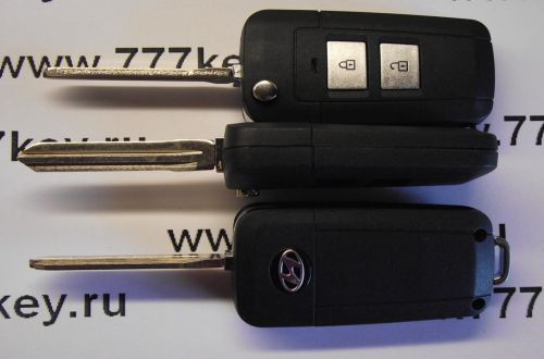 Hyundai Car Flip Key Shell 2 кнопки код 14/16