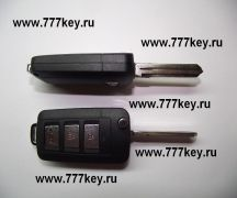 Hyundai  Car Flip Key Shell  3 кнопки код 14/12