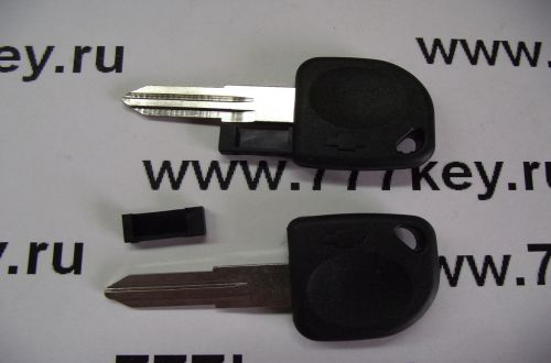 Chevrolet Transponder Key Blank (Left Side) код 5/6