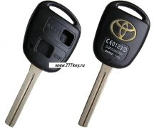 Toyota Inner Milling two-button Remote Key Blank код 29/21