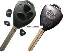 Camry, Reiz 3 BUTTON Remote Key Shell код 29