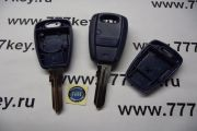 Fiat  Remote Key Case  1 кнопка  код 10/3