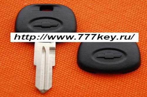 Chevrolet Transponder Key Blank (Left Side) код 5