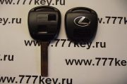 Lexus 2 Кнопки Remote Key Shell New Style with Silver Logo TOY48 код 17/35