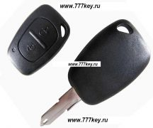Renault Clio 2 Button Remote Key Blank код 26/4