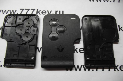 Renault MEGANE  Smart Card Case 3 кнопки  код 26/16