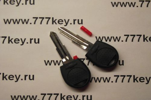 Chevrolet Transponder Key Blank левая сторона  код 5/21