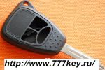 Chrysler Remote Key Case_3 Button Down код 6/7