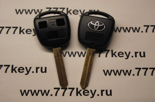 Toyota TOY47 3 Кнопки Remote Key Blank New Style with SilverLogo код 29/78