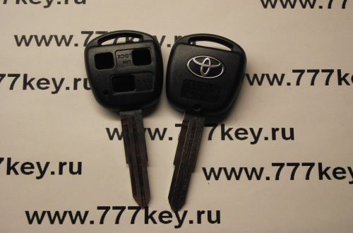 Toyota TOY41 3 Кнопки Remote Key Blank New Style with SilverLogo код 29/79