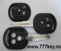 American Buick 3 Button Remote Key Shell with Buttons код 4/10